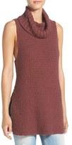Billabong Sleeveless Knit Cowl Neck Tunic