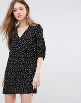 Vero Moda 3/4 Sleeve Printed Shift Dress