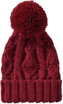Joe Fresh Women's Cable Knit Winter Hat, Red (Size O/S)