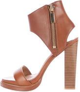 Rachel Zoe Leather Ankle Strap Sandals