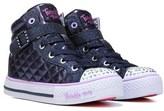 Skechers Kids' Twinkle Toes Sweetheart High Top Sneaker Preschool