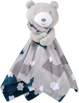 Baby Essentials Lamb Snuggle Buddy & Minky Blanket Gift Set