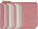 Miu Miu Pink Multi Card Zip Pouch