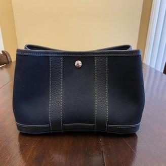 Hermes Blue Cloth Clutch bags