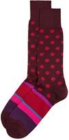 Paul Smith Pocco Mixed Pattern Socks