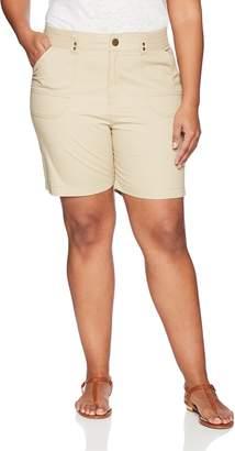 Lee Women's Plus-Size Relaxed Fit Myra Walkshort