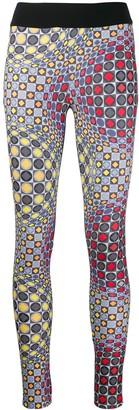 NO KA 'OI Geometric Print Leggings