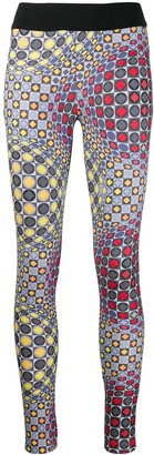 NO KA 'OI No Ka' Oi geometric print leggings