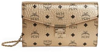 MCM Visetos Patricia Cross-Body Wallet