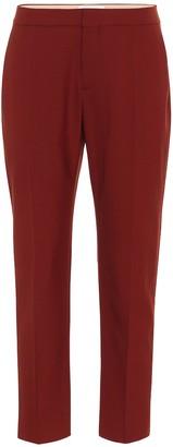 Chloé Stretch-wool pants