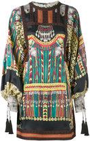 Etro printed dress - women - Silk/Cotton/Viscose - 42