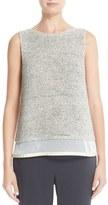 Fabiana Filippi Women's Net Underlay Cotton Tank