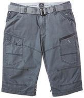 Point Zero Men's Belted Ripstop Deck Short