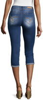 YMI Jeanswear Wanna Betta Butt Roll-Cuff Crop Jeans