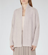 Reiss Opal Cable-Knit Cardigan