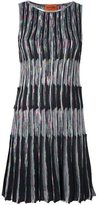 Missoni striped knitted dress - women - Silk/Polyester/Spandex/Elastane/Rayon - 44
