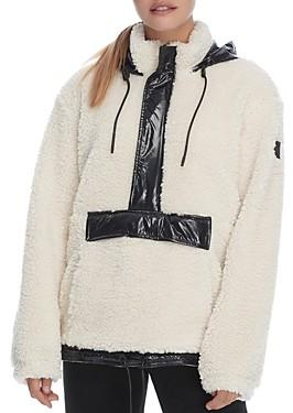 Moose Knuckles Avonhrst Mixed Media Hooded Jacket