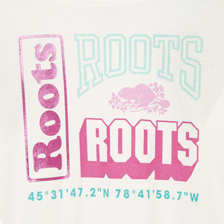 Roots Girls Stacked T-shirt