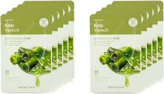 The Face Shop Real Nature Kelp Face Mask Mineral-Rich 10Pk