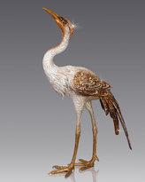 Jay Strongwater Crane Figurine