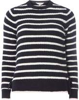 Dorothy Perkins Petite Tipped Stripe Jumper