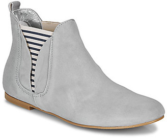 Ippon Vintage PATCH FLYBOAT women's Mid Boots in Grey