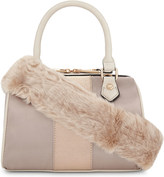 Aldo Montegabbione faux-fur shoulder bag