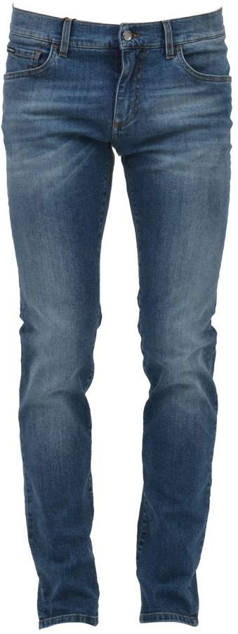 Dolce & Gabbana Straight Cut Denim Jeans
