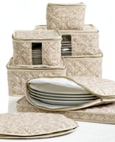 Hudson Homewear Homewear Fine China Storage Set, 8 Piece Damask