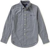 Ralph Lauren Big Boys 8-20 Plaid Oxford Shirt