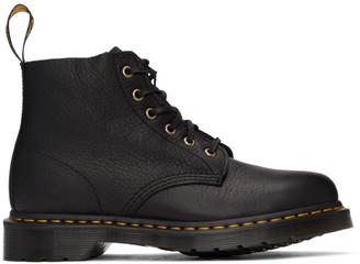 Dr. Martens Black 101 Unbound Ambassador Lace-Up Boots