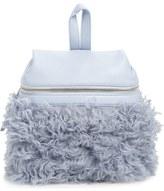 Kara Small Genuine Shearling Backpack