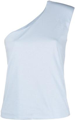 FEDERICA TOSI One-Shoulder Sleeveless Top