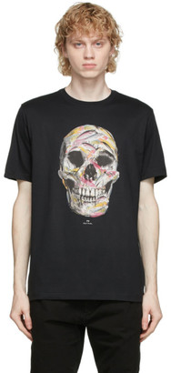 Paul Smith Black Fish Hook Skull T-Shirt