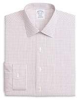 Brooks Brothers Windowpane Classic Fit Dress Shirt
