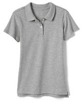 Classic Women's Short Sleeve Fem Fit Interlock Polo-White