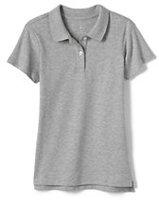 Classic Women's Short Sleeve Fem Fit Interlock Polo-White