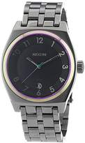 Nixon Men's Watch XL Multi A Monopoly Gunmetal 3251698–00 Analogue Quartz Stainless Steel