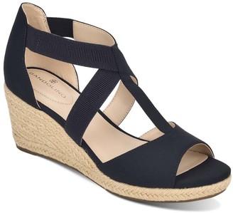 Bandolino Women's Sandals DBLFB - Navy Novana Wedge Sandal - Women