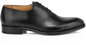 Paul Stuart Lorenzo One-Piece Leather Balmoral Dress Shoes