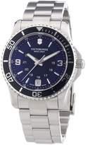 Victorinox Women's 241609 'Maverick' Dial Stainless Steel GMT Quartz Watch