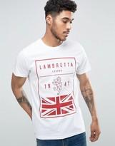 Lambretta British Flag T-shirt
