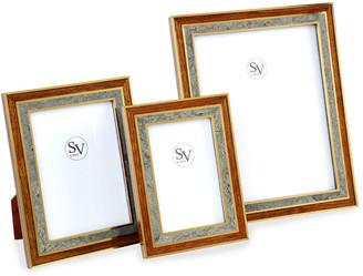 "SV Casa Madagascar Double Picture Frame, 8"" x 10"""