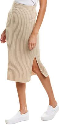 Very J Ribbed Mini Skirt