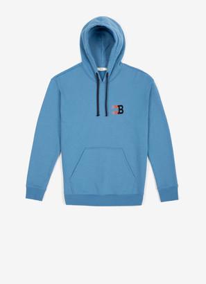 Bally Hooded B Print Sweatshirt