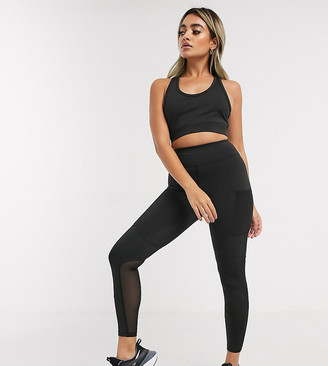 ASOS 4505 Petite icon legging with bum sculpt seam detail and pocket