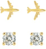 Juicy Couture Jet Set Expressions Stud Earring Set