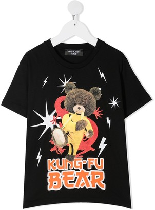 Neil Barrett Kids Graphic Print T-Shirt