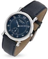 Raymond Weil Blue Lizard Stamped Stainless Steel Dress Watch