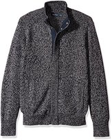 Nautica Men's Concealed-Zip Sweater